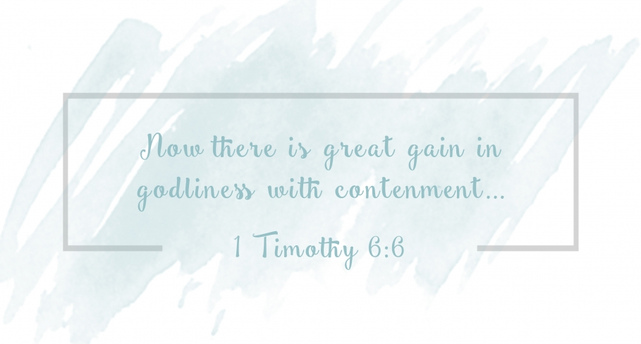 being-content-with-what-God-has-given-us