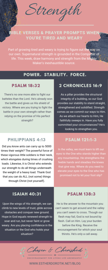 Chosen and Cherished - Page 12 of 56 - Encourage | Equip