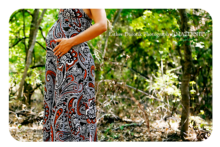 outdoor maternity portraits