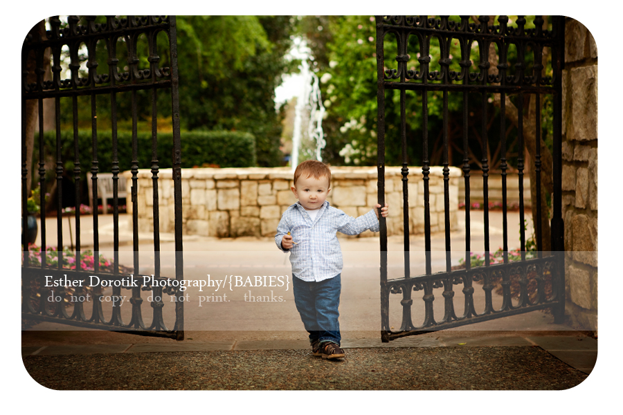 one-year-old-boy-posing-at-the-Arboretum-photographed-by-Dallas-photographer