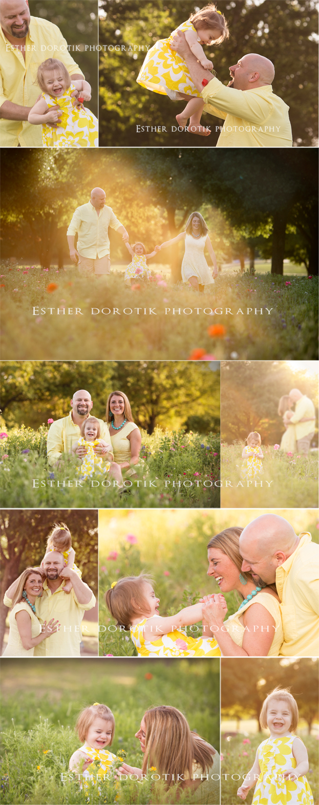 Plano-family-and-baby-photographer-captures-sunset-session-in-field