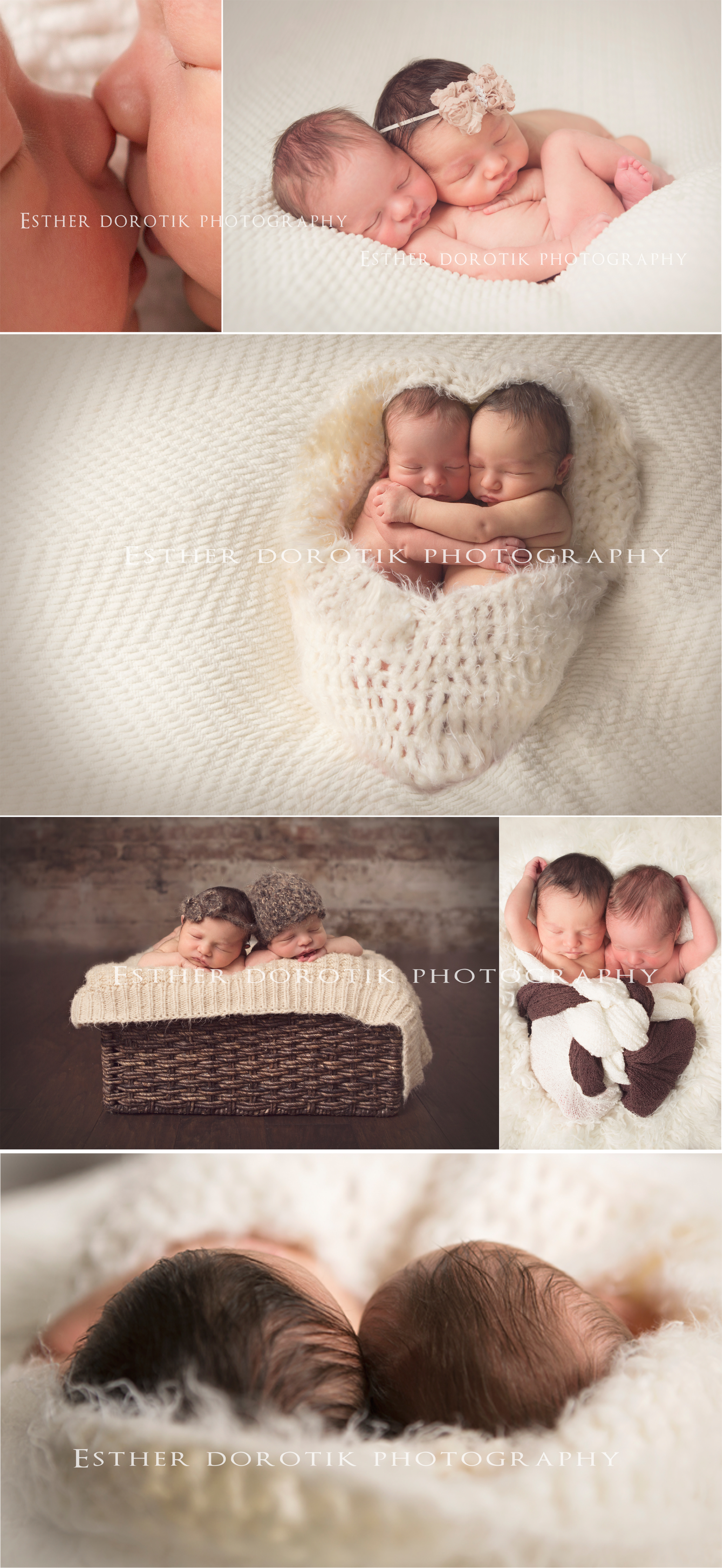 unique-twin-photography-of-newborn-girl-and-boy-using-baskets-knit-wraps-by-Dallas-photographer
