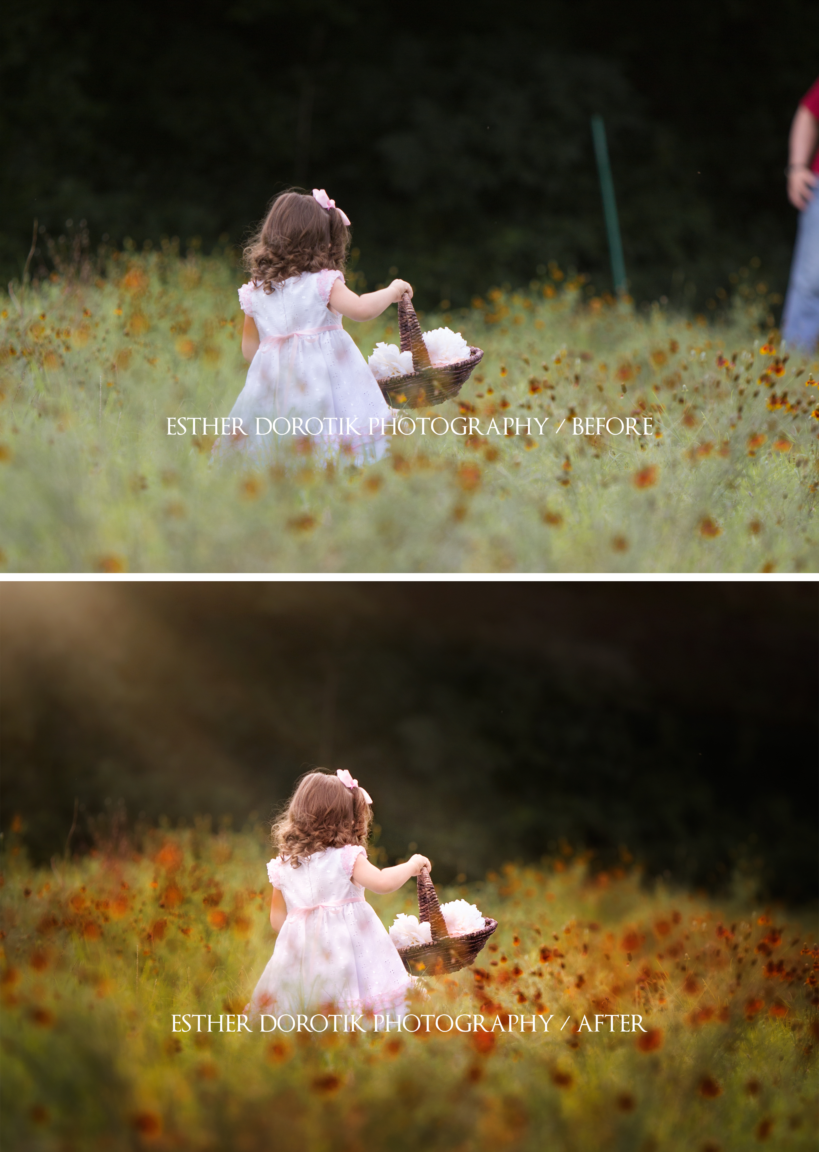 before-and-after-of-2-year-old-running-through-field-by-Plano-baby-photographer