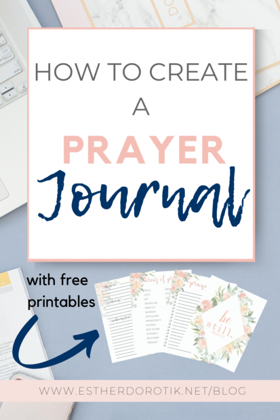 graphic regarding Free Printable Prayer Journal named How In the direction of Establish A Prayer Magazine Totally free Prayer Magazine