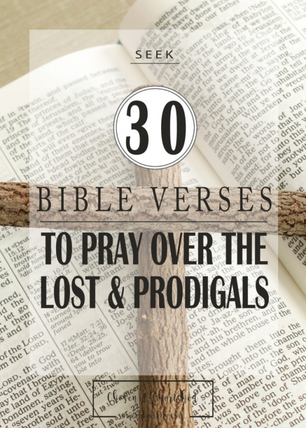 Prayers For Lost Loved Ones - Bible Verses For Salvation