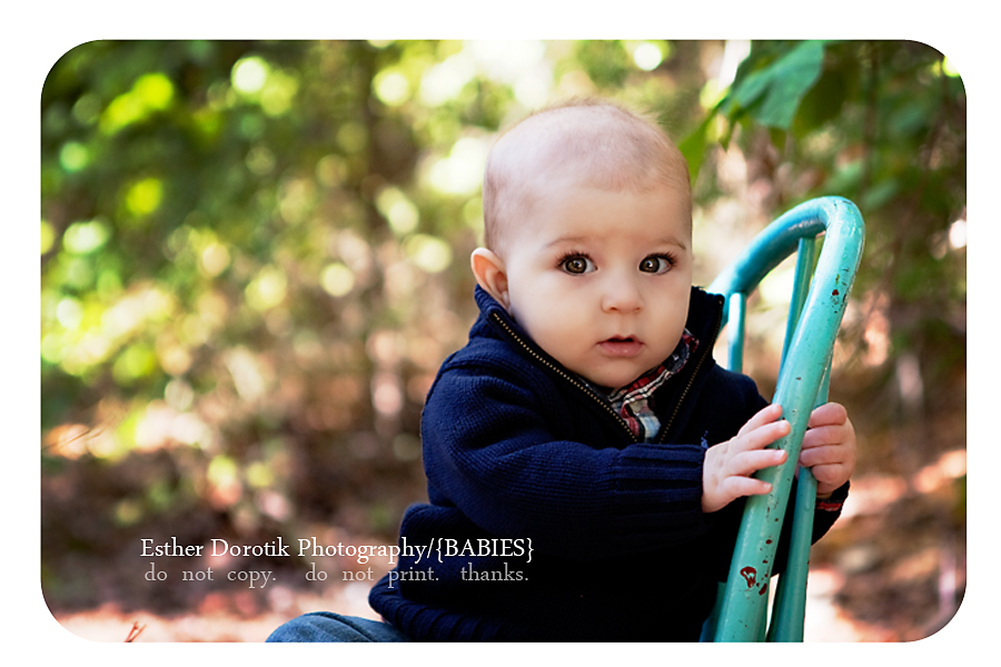 picture-of-6-month-boy-sitting-in-chair-in-flower-mound-creek-area