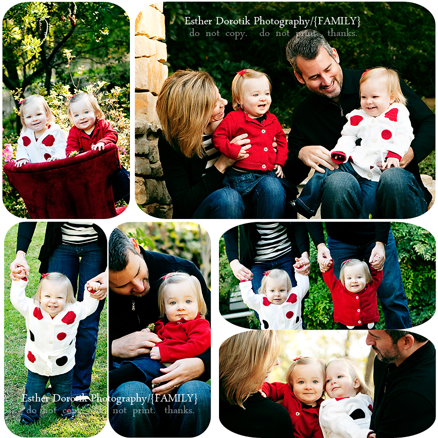dallas-photographer-with-one-year-old-twin-sisters