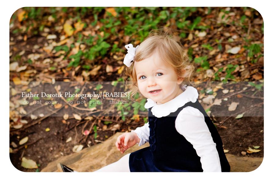 Dallas Baby Photographer 1 Year Old Flower Mound