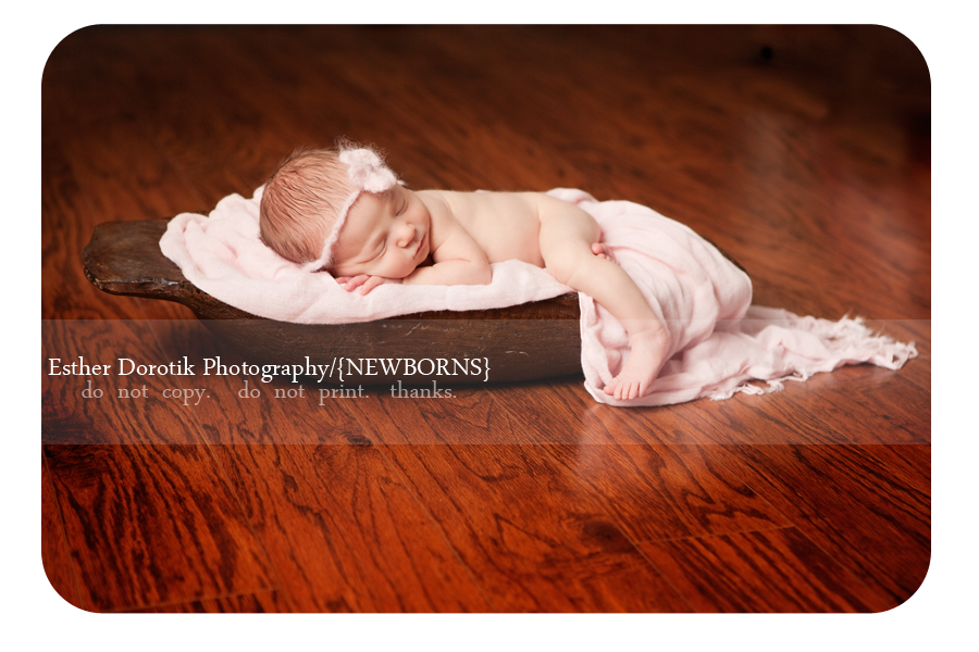 newborn-photographer-captures-baby-girl-in-basket-with-pink-scarf