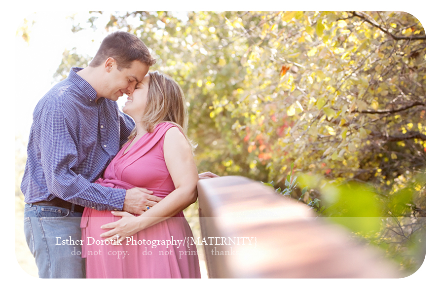 expecting-couple-photographed-outdoors-by-Dallas-maternity-photographer
