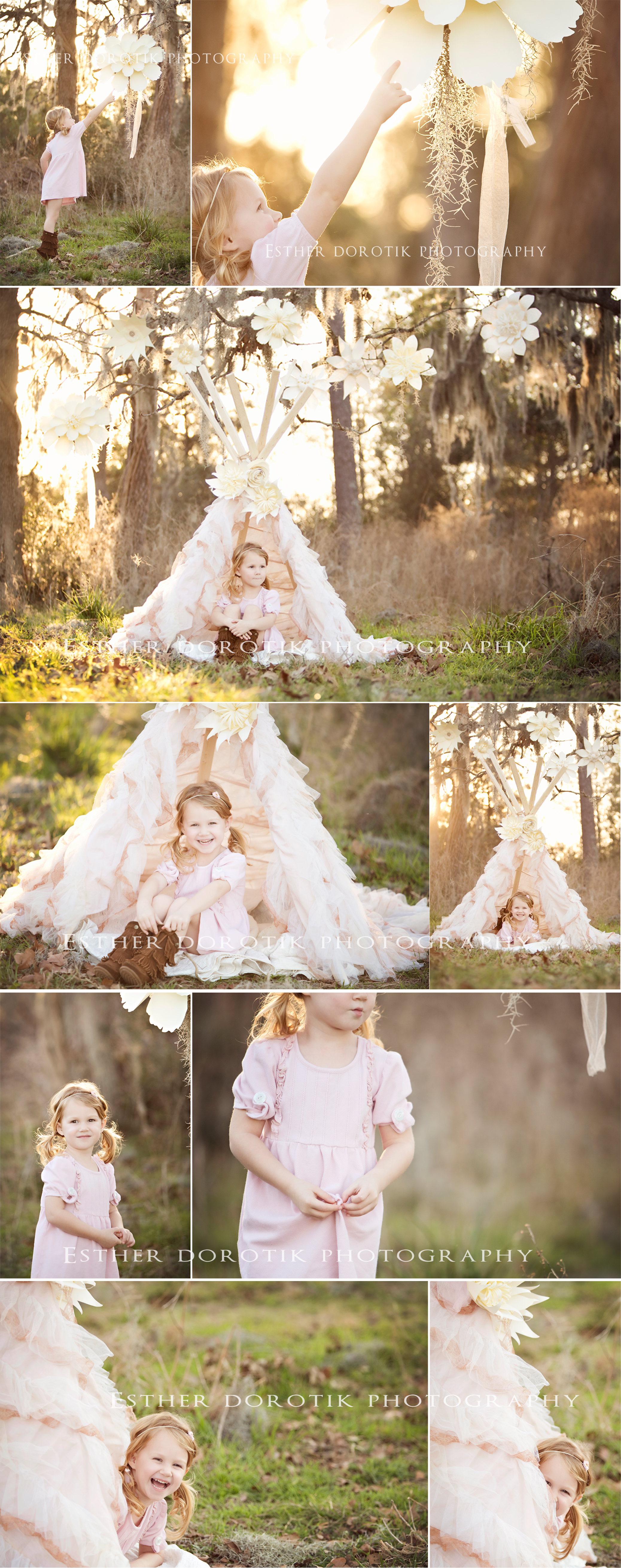 Keller-child-photographer-captures-whimsical-pictures-of-little-girl-in-teepee