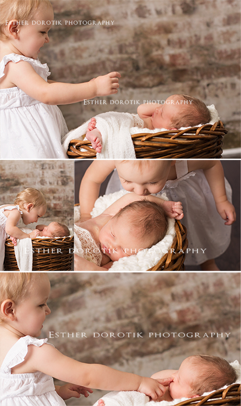 14-month-old-photographed-with-her-newborn-sister-by-Fort-Worth-newborn-photographer