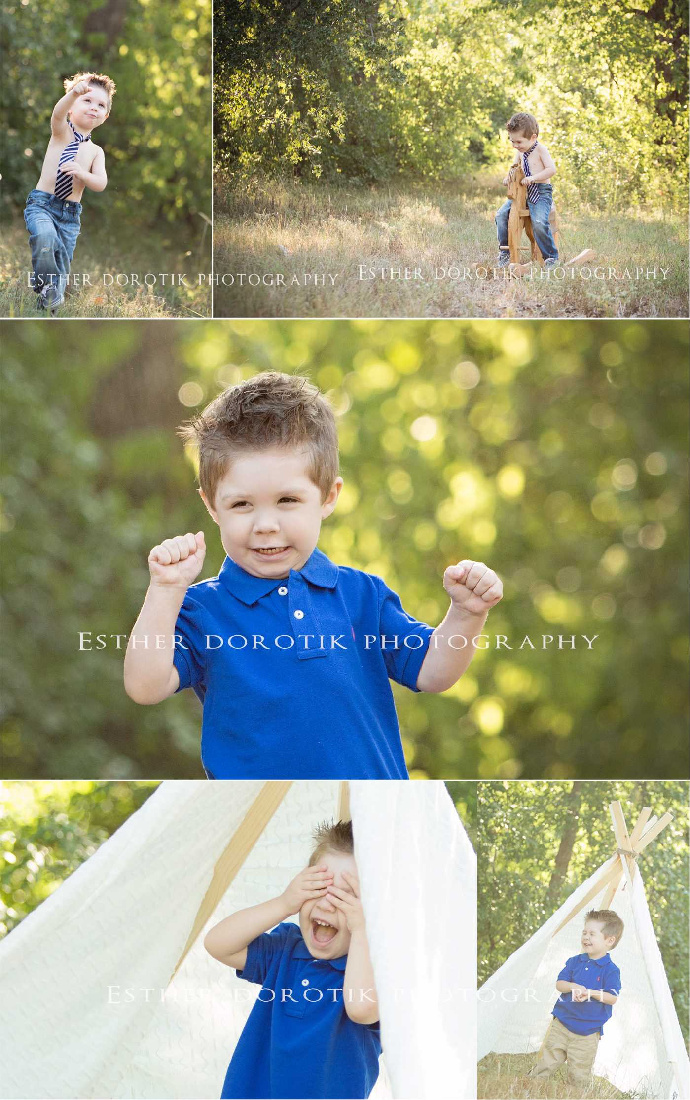 fun-and-playful-two-year-old-little-boy-photos-in-field-with-tent-by-Dallas-Child-photographer