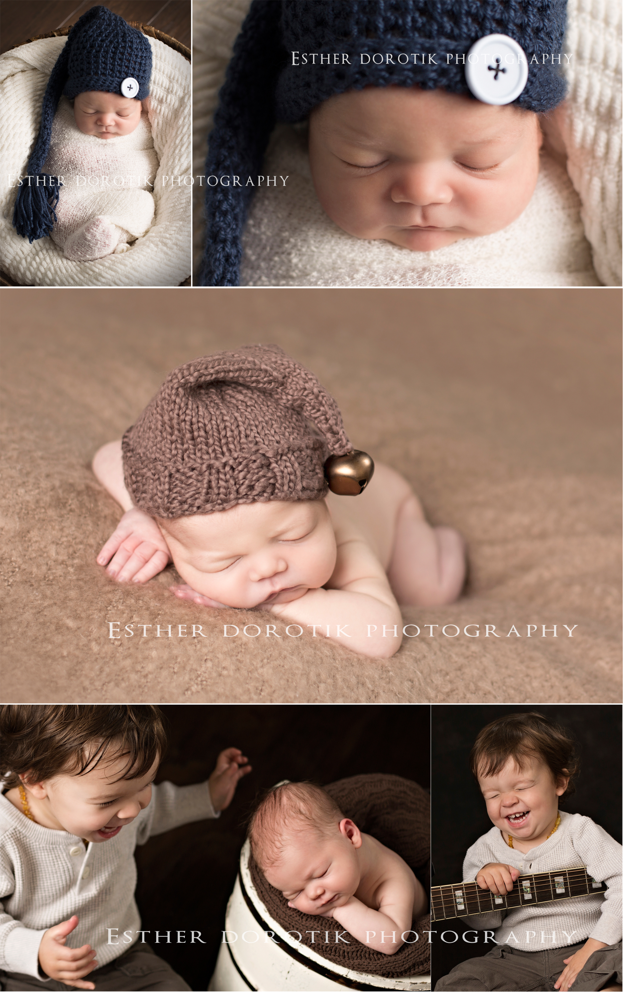 picture-of-newborn-baby-boy-with-his-two-year-old-brother-by-Frisco-newborn-photographer