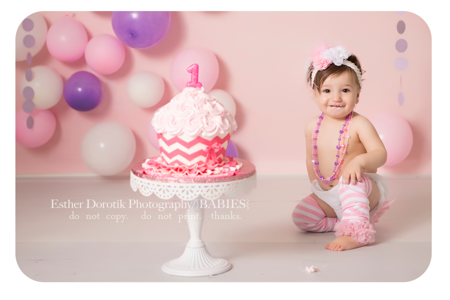 One Year Old Cake Smash / Dallas Baby Photographer ...